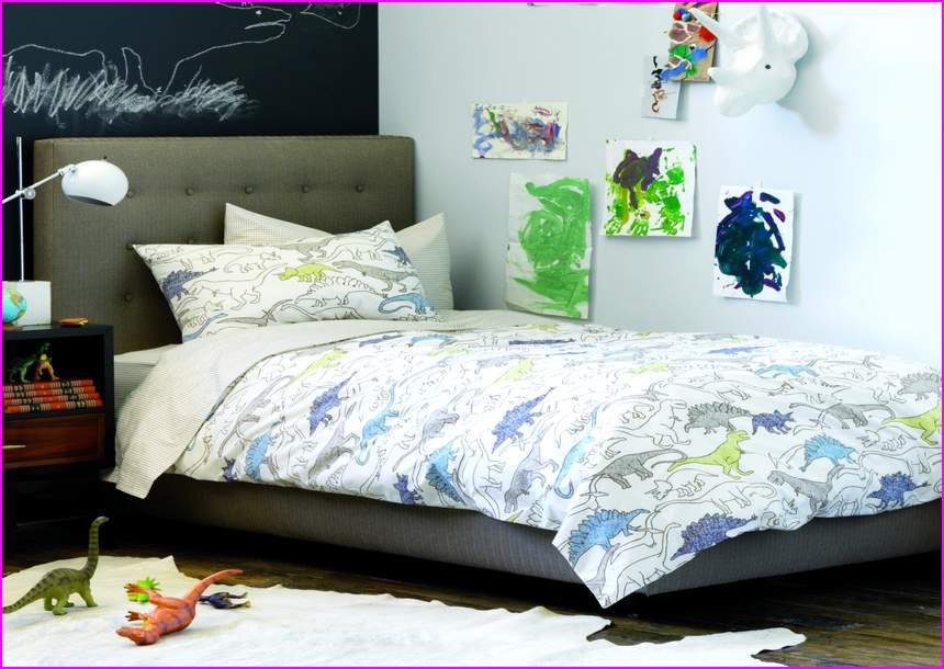 Dinosaur Toddler Bed Set