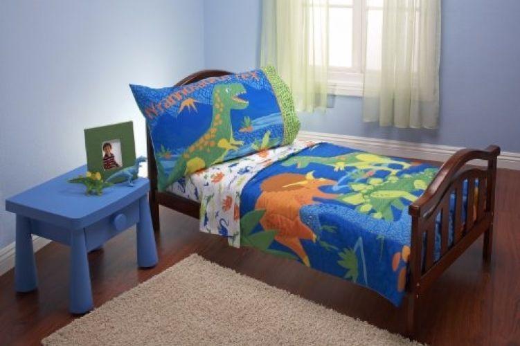 Dinosaur Toddler Bed Sheet Set