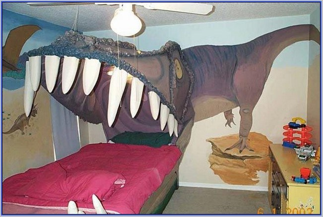 Dinosaur Toddler Bed Tent