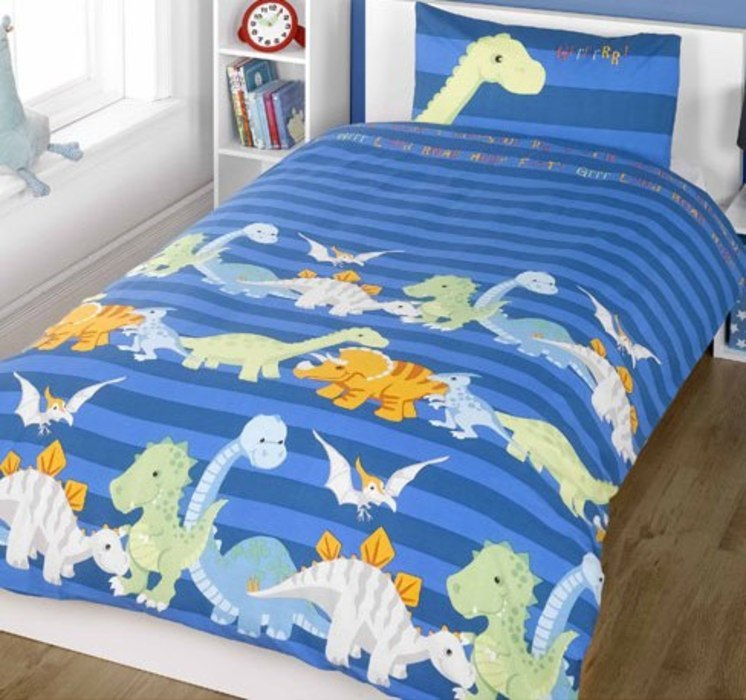 Dinosaur Toddler Bedding