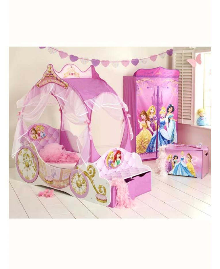 Disney Carriage Toddler Bed