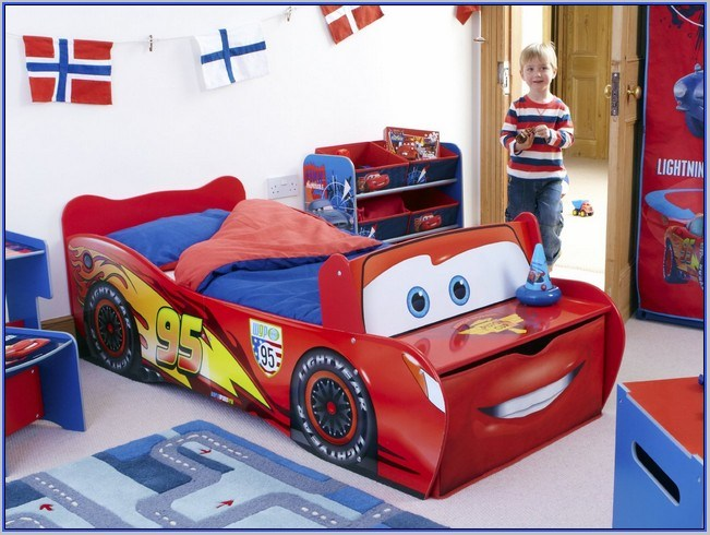 Disney Cars Lightning Mcqueen Toddler Bed Little Tikes