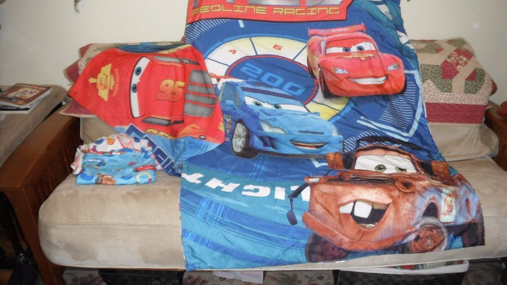 Disney Cars Toddler Bed Comforter Set