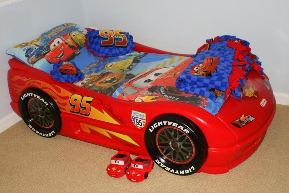 Disney Cars Toddler Bed Set