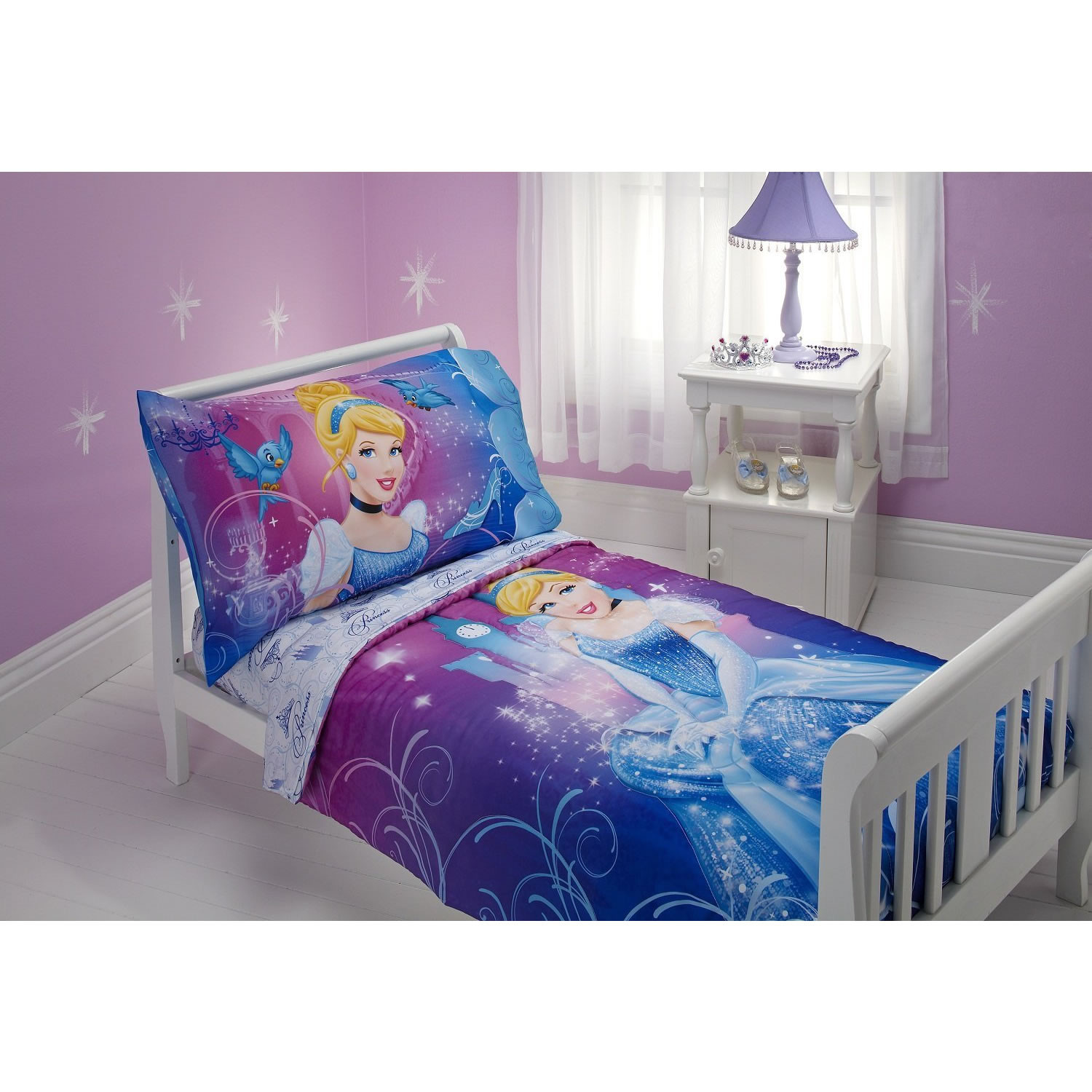 Disney Cinderella Toddler Bedding Set