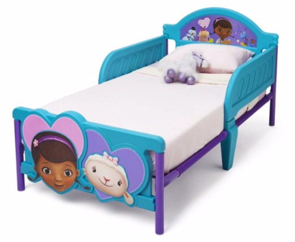 Disney Doc Mcstuffins Toddler Bed & Toddler Bedding Set Bundle