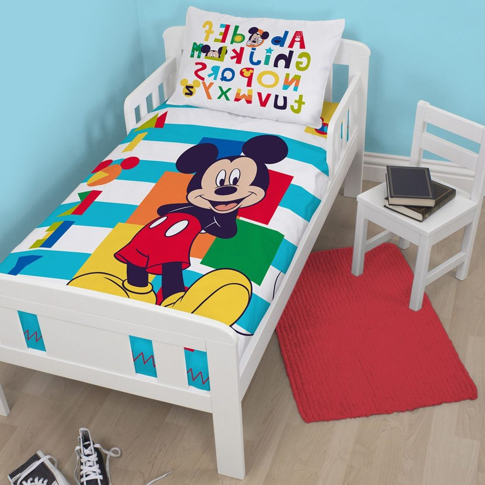 Disney Minnie Mouse Toddler Bed With Canopy