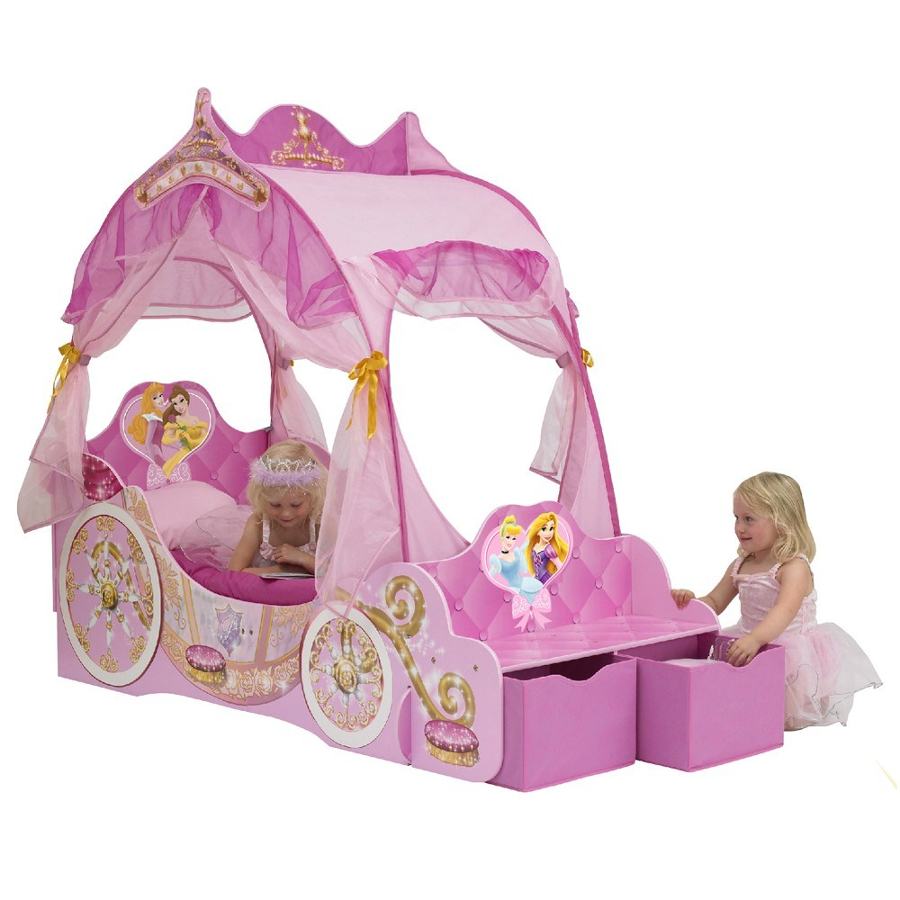 Disney Princess Carriage Toddler Bed Argos