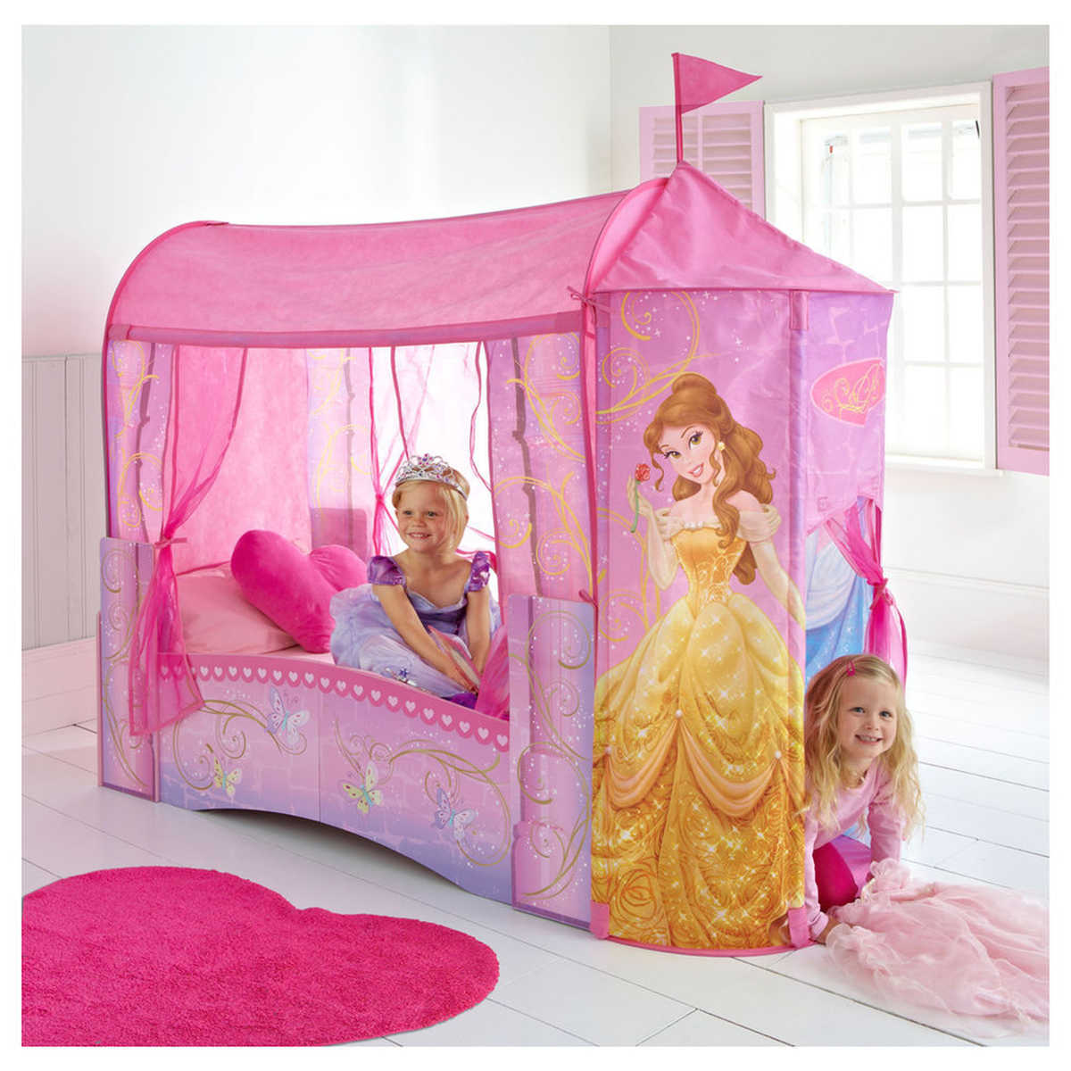 Disney Princess Castle Toddler Bed