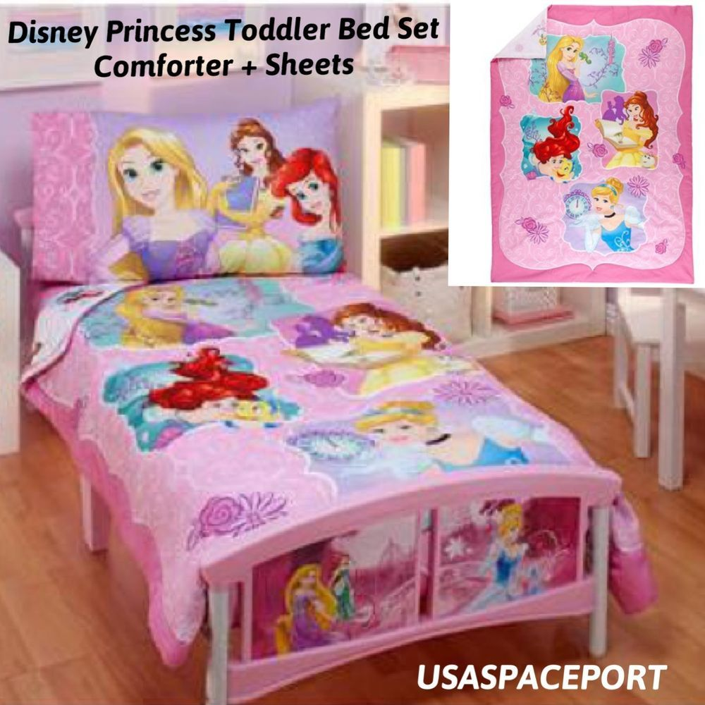 Disney Princess Toddler Bed Comforter Set