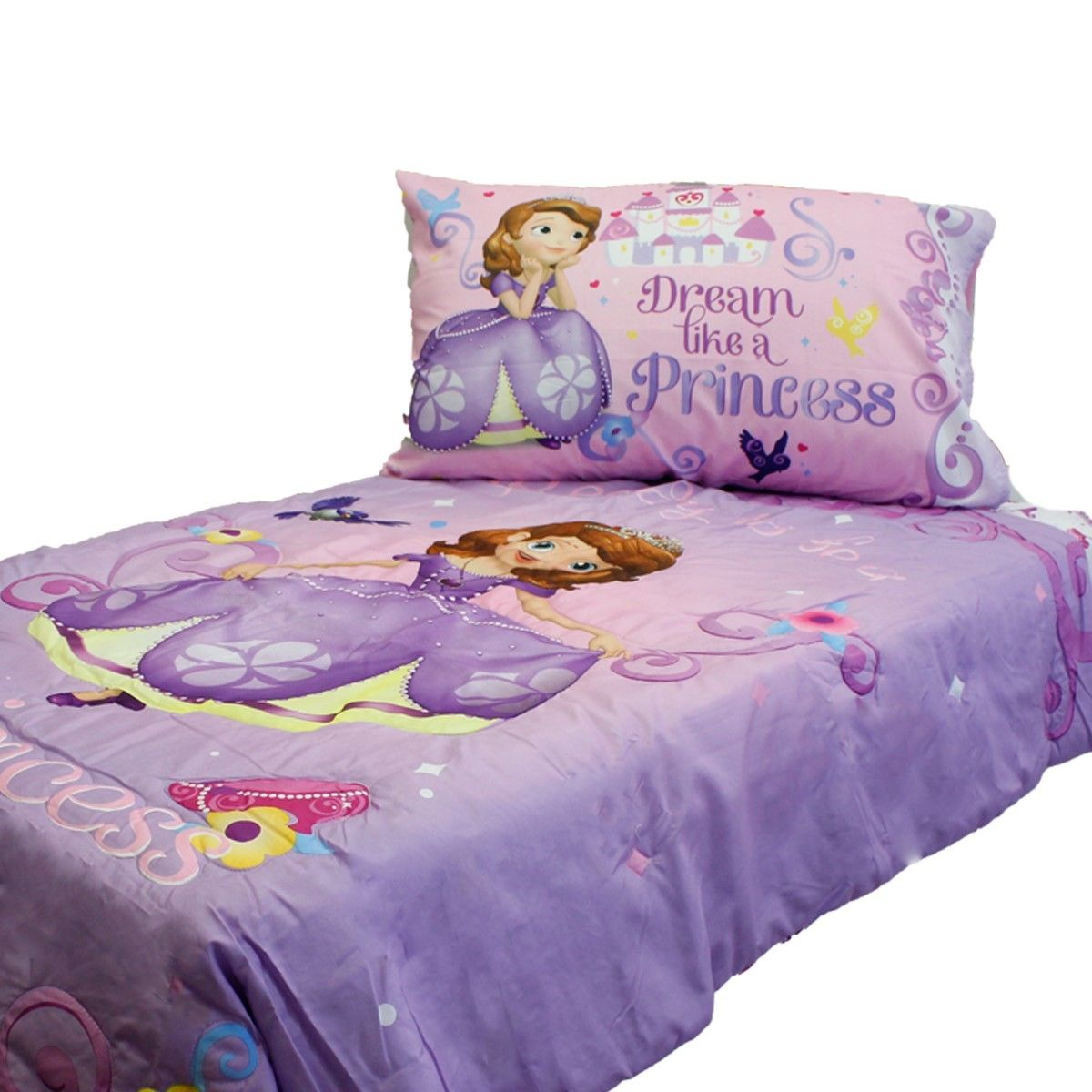 Disney Princess Toddler Bed Comforter