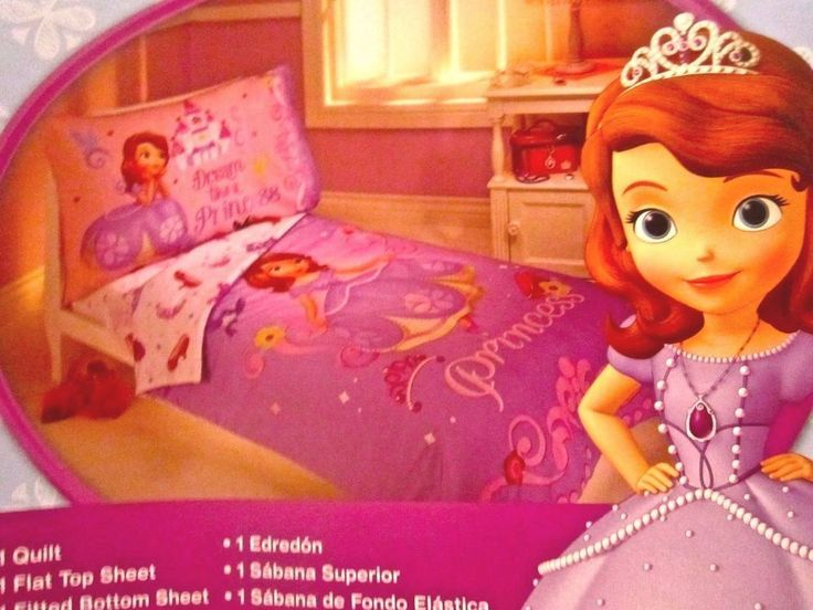 Disney Princess Toddler Bed Sheet Set