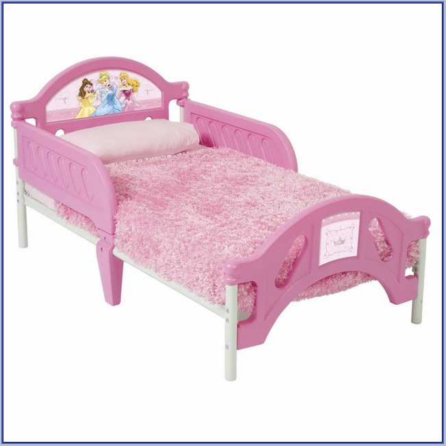 Disney Princess Toddler Bed With Canopy And Bedding Set Value Bundle