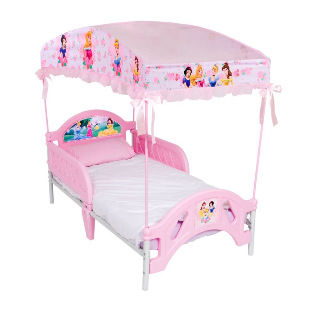 Disney Princess Wooden Toddler Bed Canopy