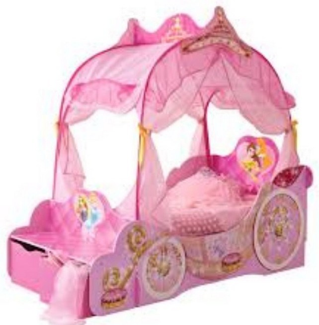 Disney Toddler Bed With Canopy