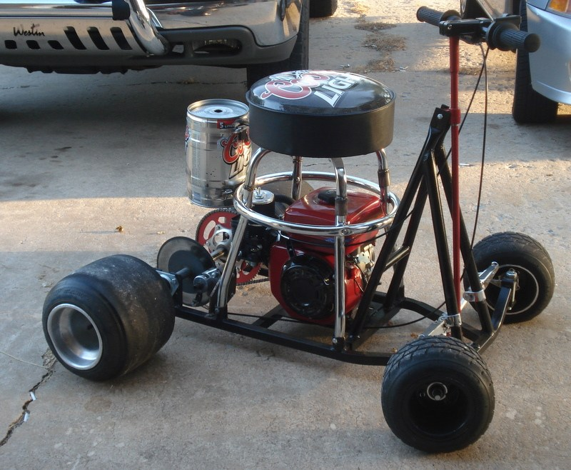 Diy Bar Stool Racer
