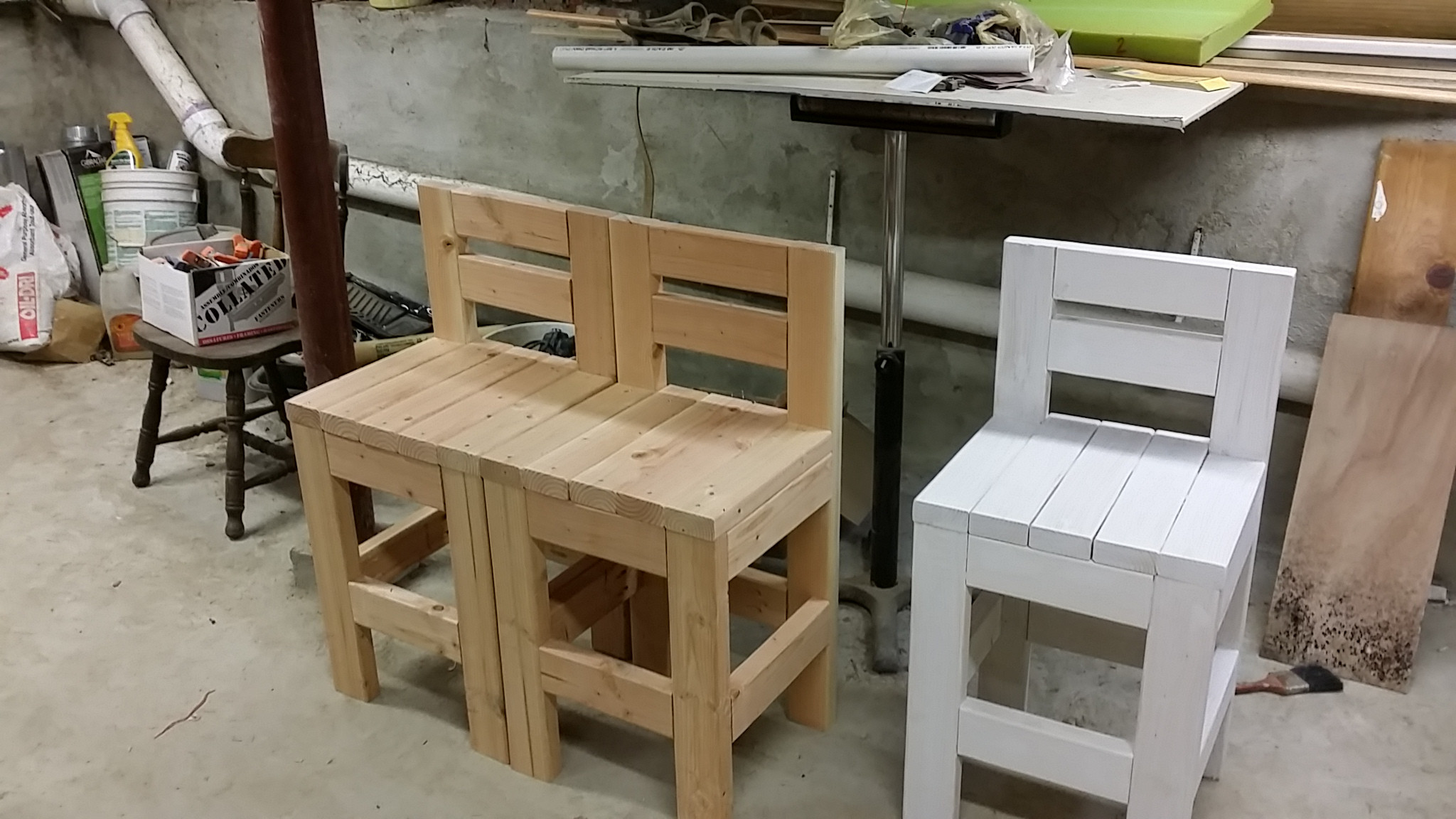 Diy Bar Stools 2×4