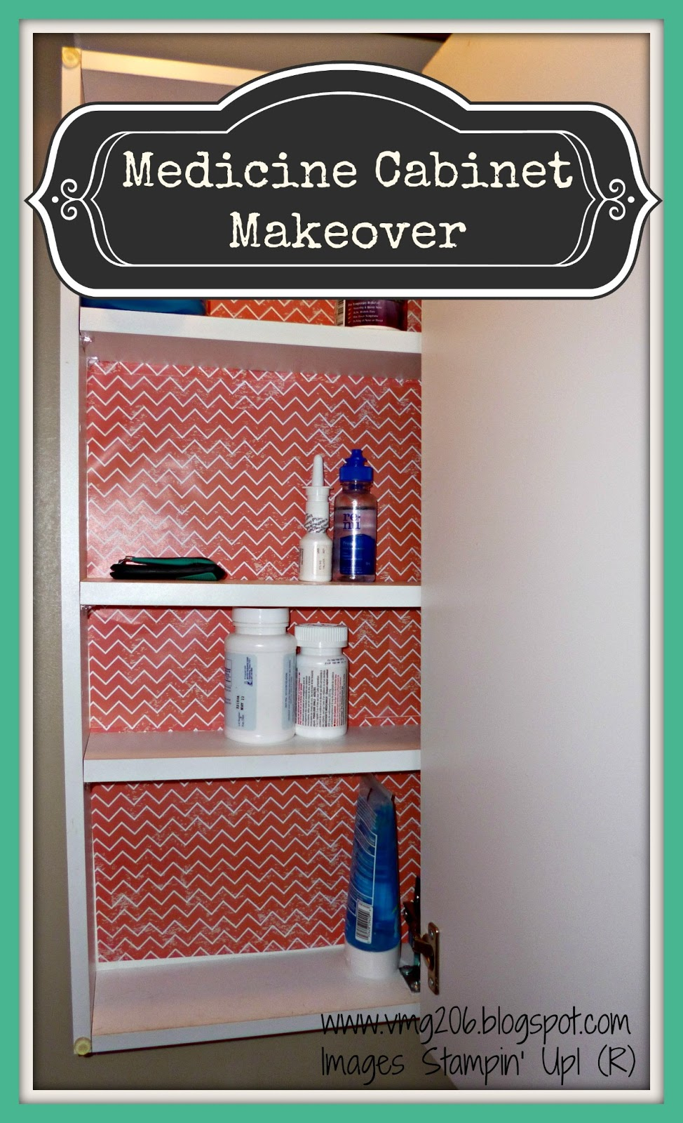 Diy Medicine Cabinet Makeover