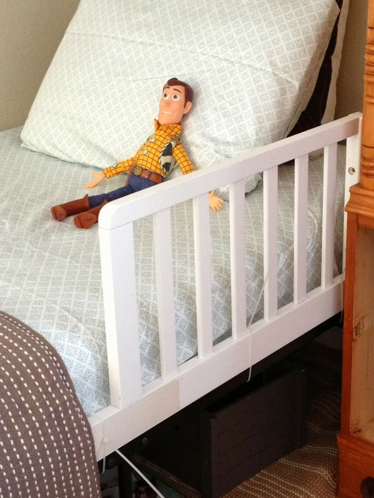 Diy Toddler Bed Safety Rail