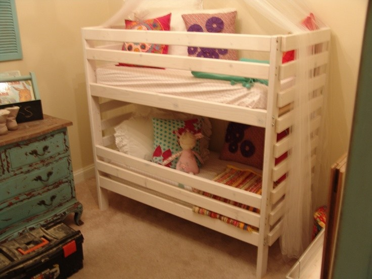Diy Toddler Bunk Beds