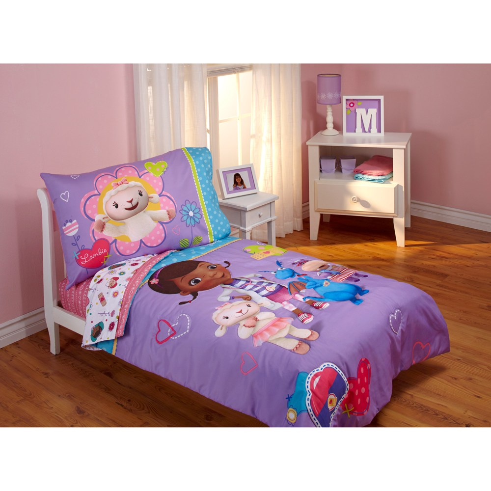 Doc Mcstuffins Toddler Bed Bundle