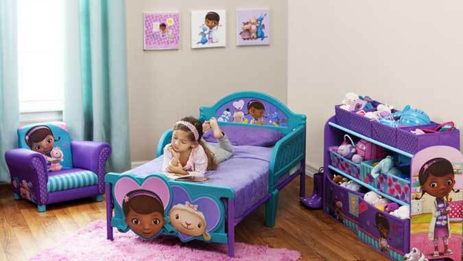 Doc Mcstuffins Toddler Bed With Canopy