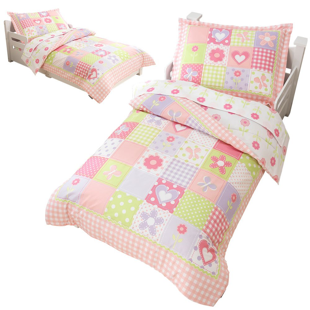 Dollhouse Cottage Toddler Bedding