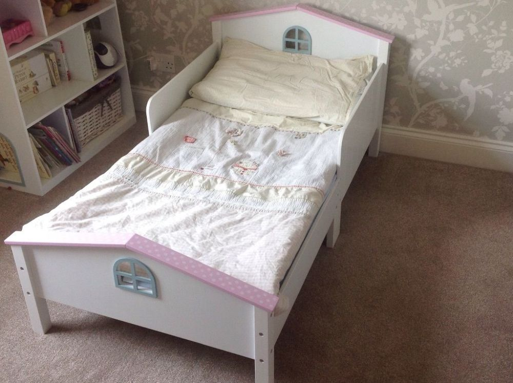 Dolls House Toddler Bed