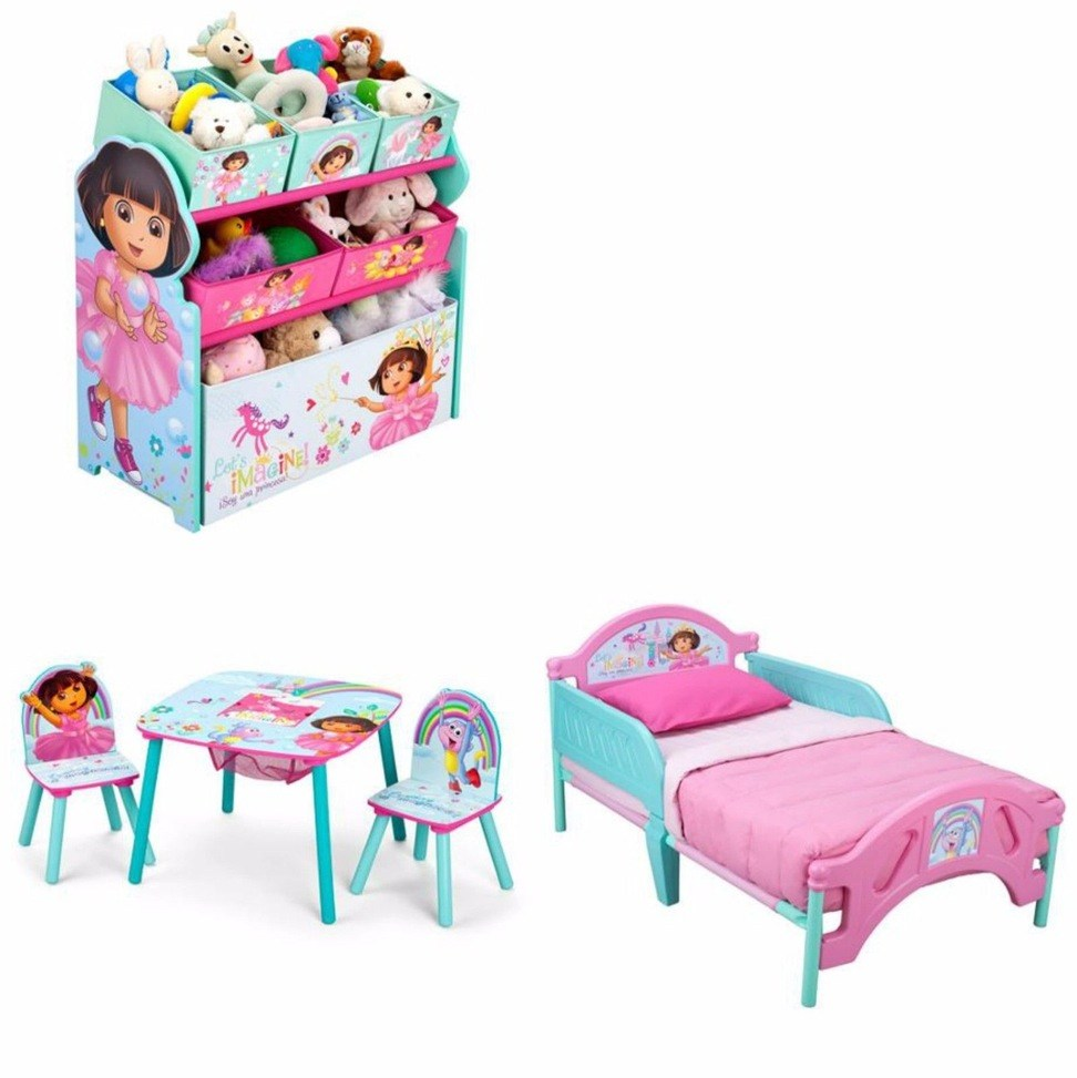 Dora The Explorer Toddler Bedroom Set
