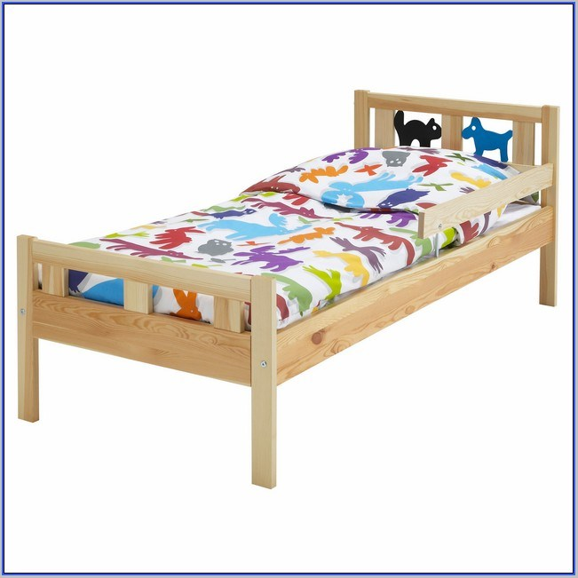 Double Toddler Bed Frame