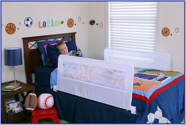 Double Toddler Bed Rails