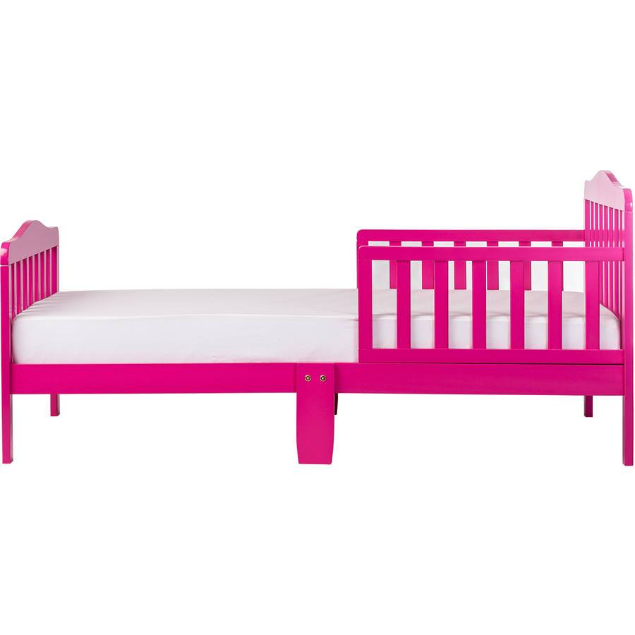 Dream On Me Classic Design Toddler Bed Fuchsia Pink