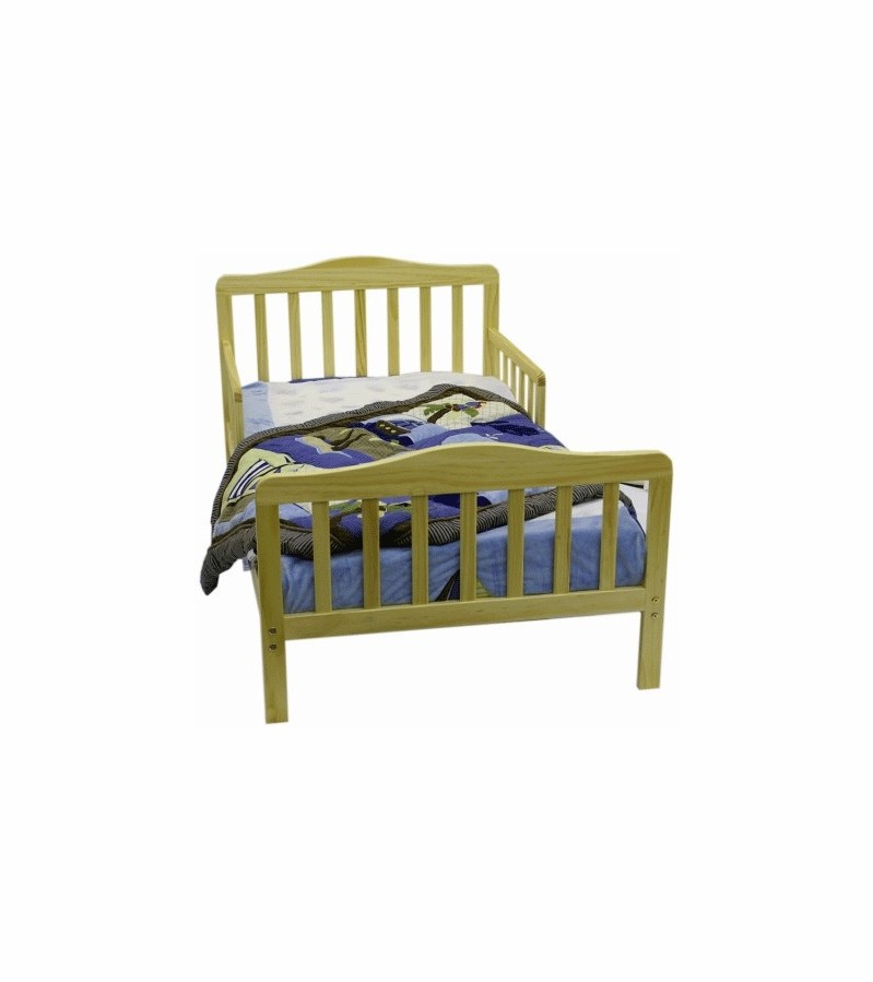 Dream On Me Classic Toddler Bed Natural
