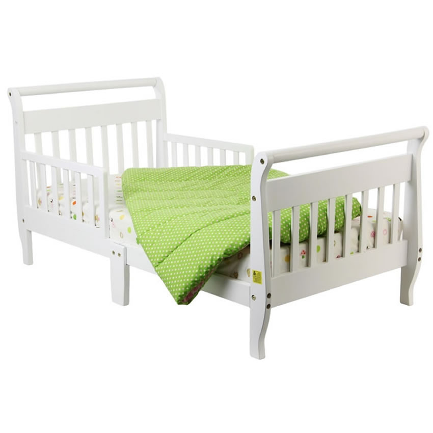 Dream On Me Classic Toddler Bed White