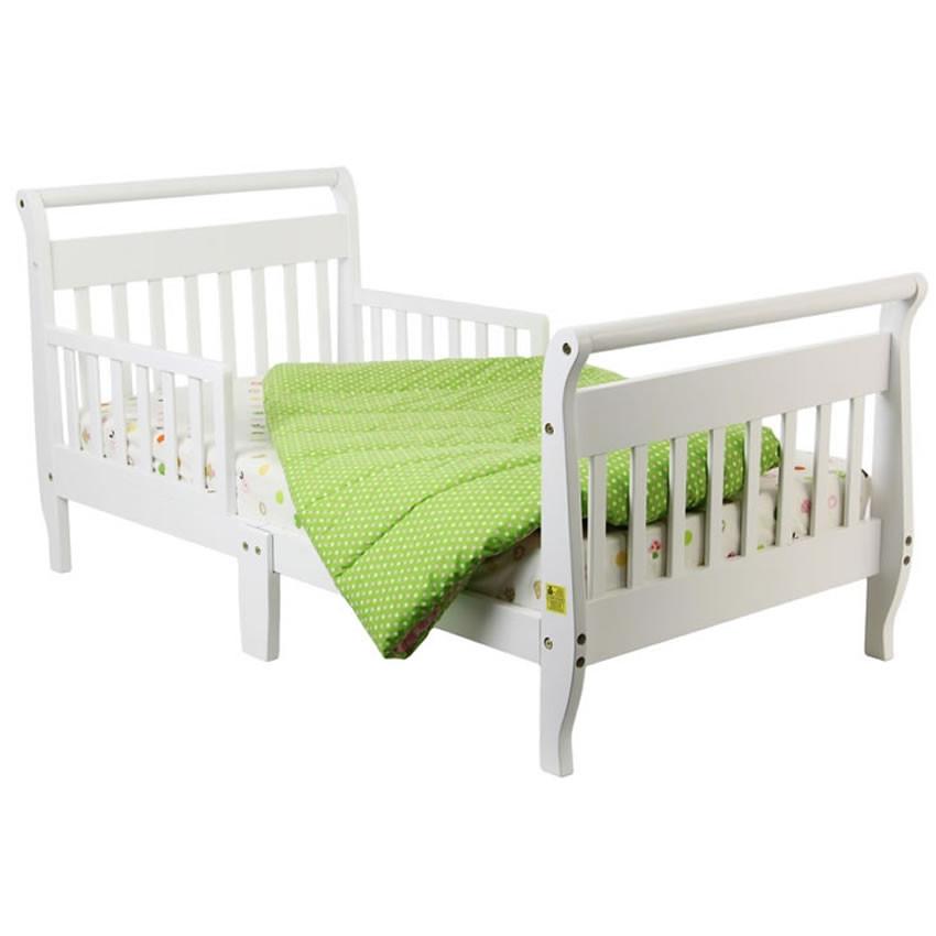 Dream On Me Toddler Bed White