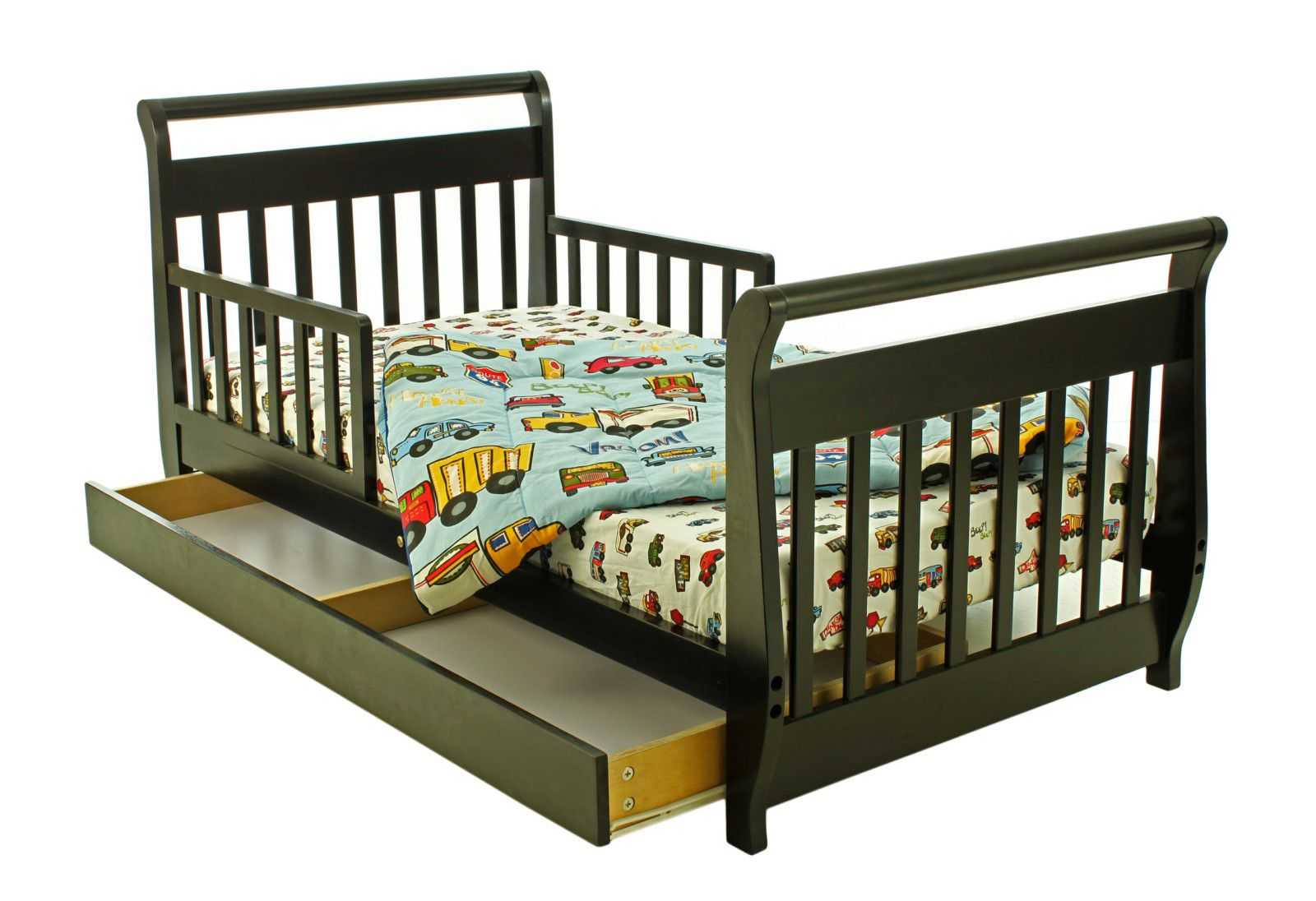 Dream On Me Toddler Bed With Storage