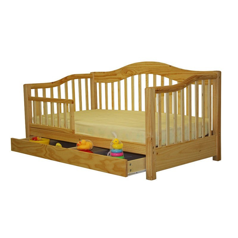 Dream On Me Toddler Day Bed Natural