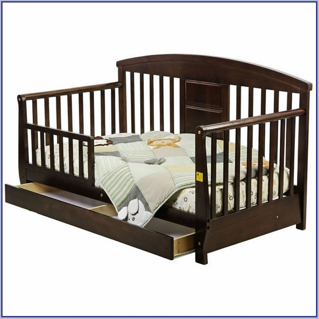 Dream On Me Toddler Day Bed With Storage Drawer