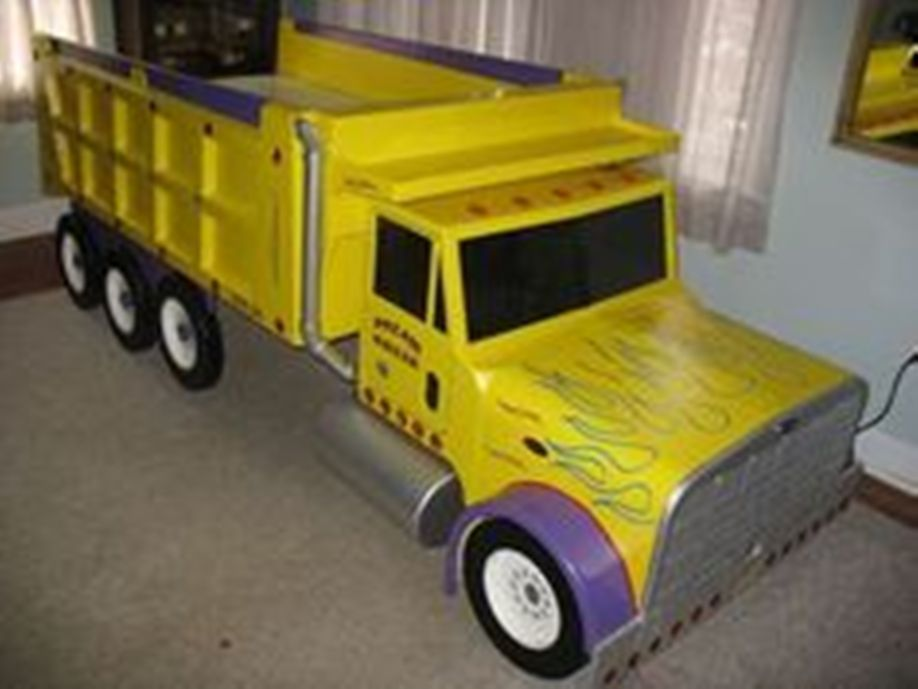Dump Truck Toddler Bed