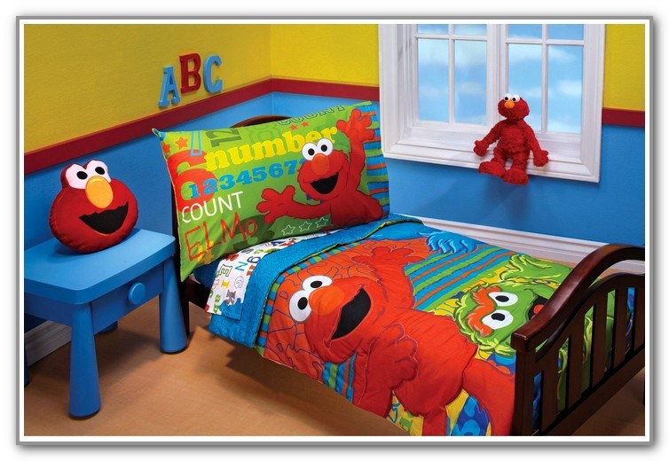 Elmo Toddler Bedding