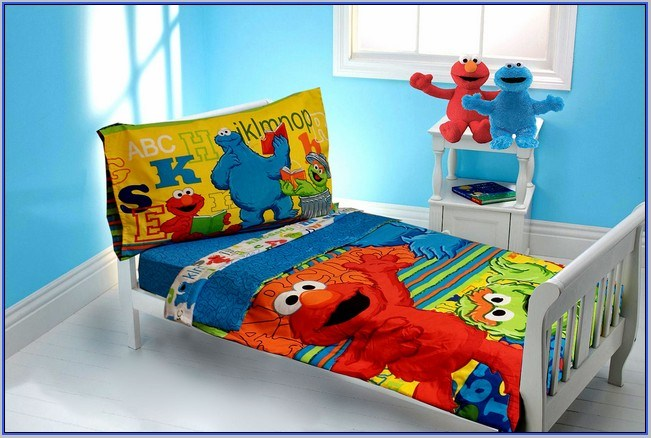 Elmo Toddler Bedroom Set