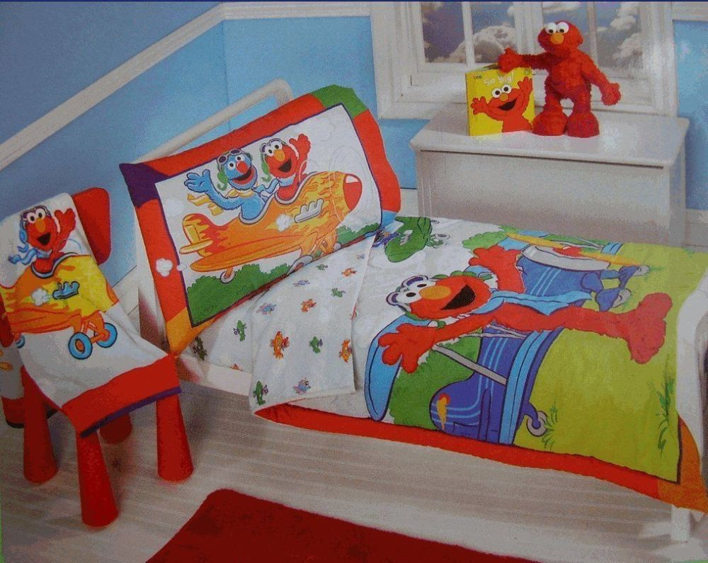Elmo Toddler Quilt