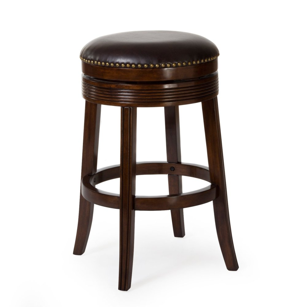 Espresso Backless Bar Stools