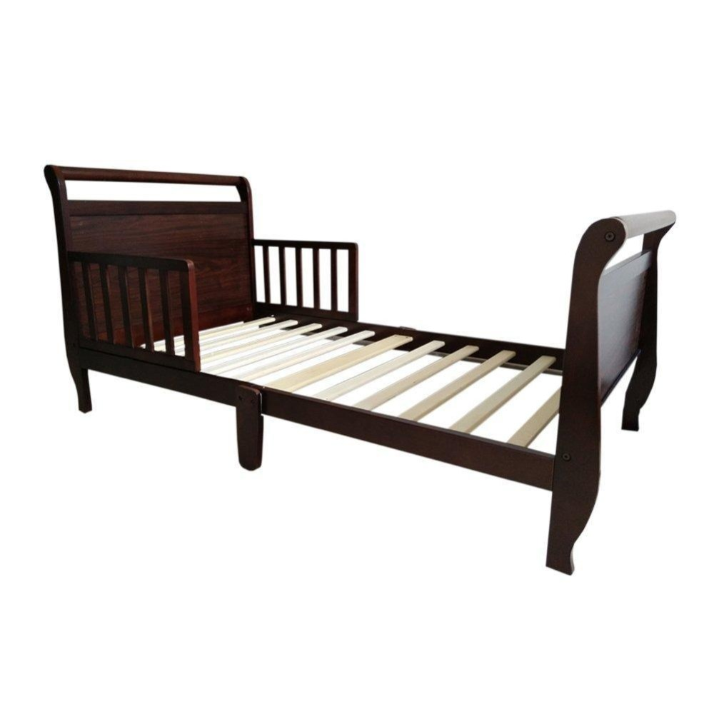 Espresso Toddler Sleigh Bed