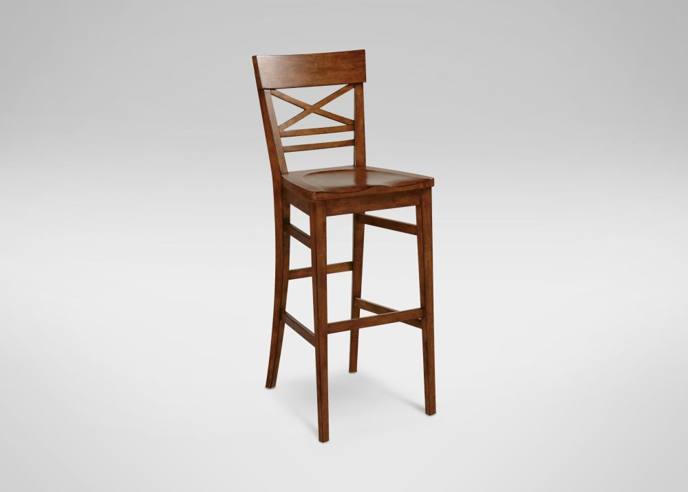 Ethan Allen Bar Stools Leather
