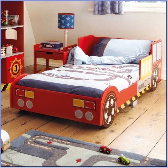 Fire Engine Toddler Bed Lowest Price