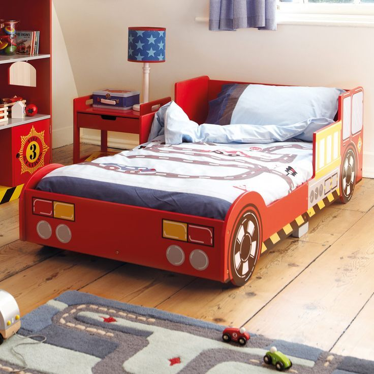 Fire Engine Toddler Bed Uk
