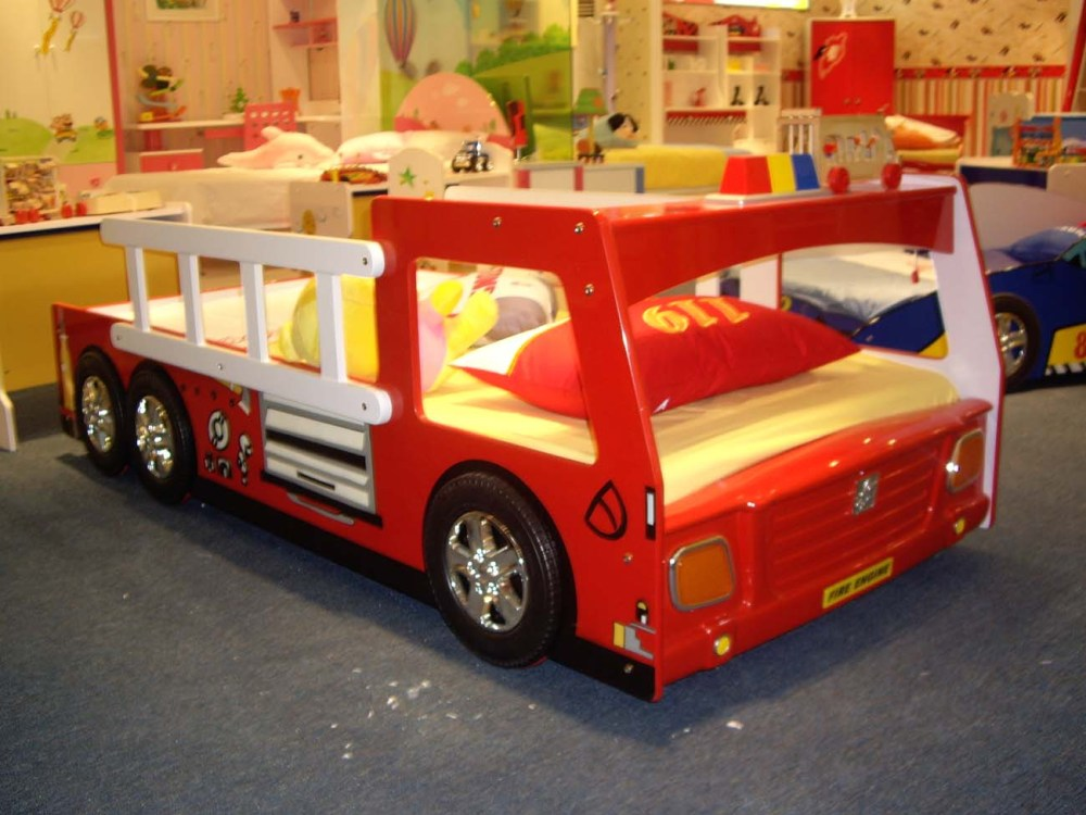 Fire Truck Bed Toddler