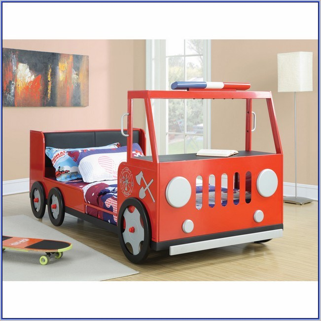Fire Truck Toddler Bed Little Tikes
