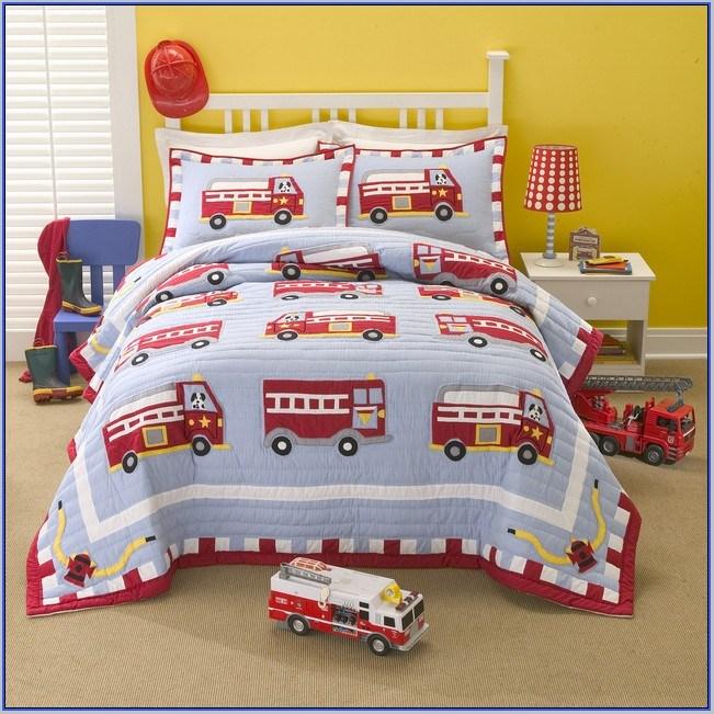 Fire Truck Toddler Bedding Canada